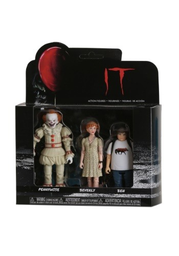 Funko IT Action Figures: Pennywise, Beverly, Ben Update Main