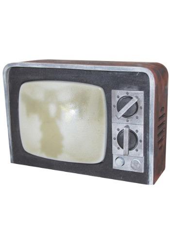 Broken TV with Sound Decoration