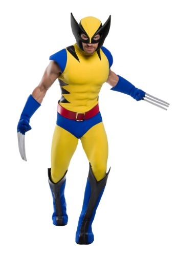 Premium Adult Plus Size Wolverine Costume