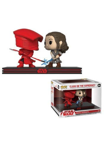 Pop! Star Wars Movie Moment: The Last Jedi- Rey & Praetorian