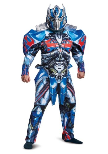 Adult Transformers 5 Deluxe Optimus Prime Costume