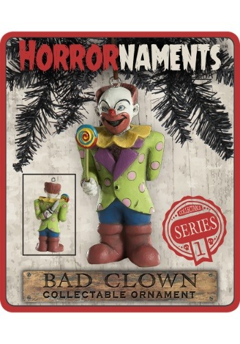 Horrornaments Bad Clown Molded Ornament