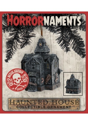 Horrornaments Haunted House Molded Ornament Michael Berryman