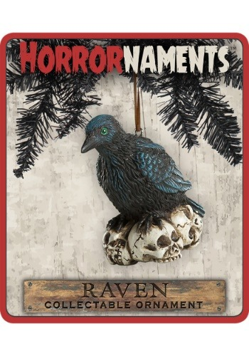 Horrornaments Raven Molded Ornament
