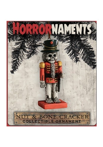Horrornaments Nut Cracker Molded Ornament