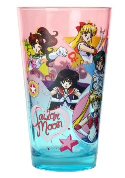 Sailor Moon Group Pint Glass