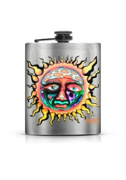 Sublime Foil Printed Flask