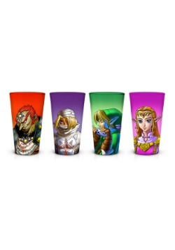 Zelda Pint Glass Set of 4