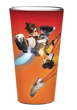 Overwatch Tracer Character Glass