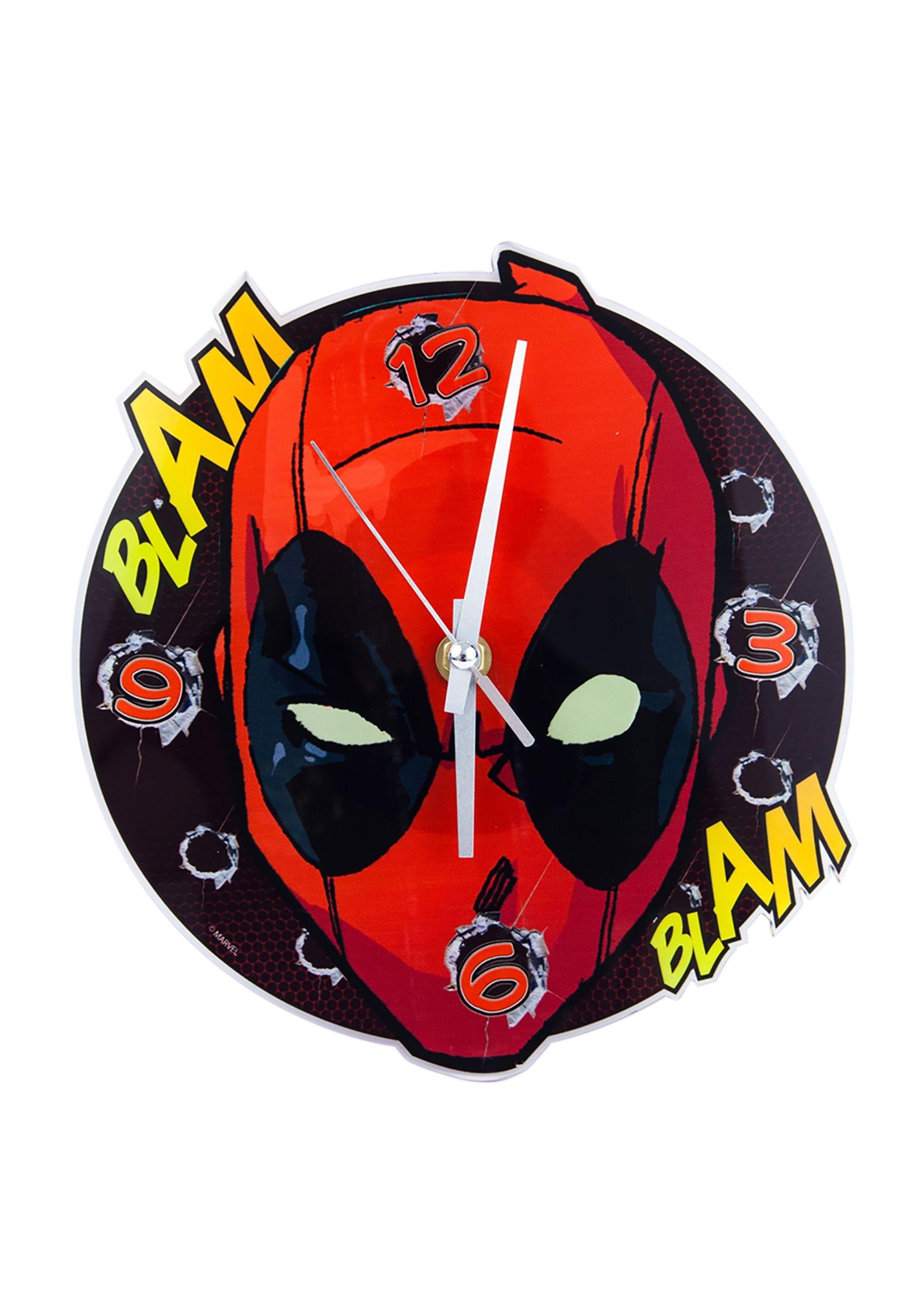 Deadpool_Wall_Clock_Face