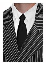 Black Mobster Tie