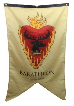 Game of Thrones Stannis Baratheon Sigil 30x50 Banner