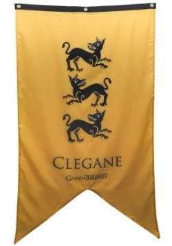 Game of Thrones Clegane Sigil 30x50 Banner