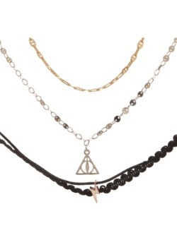 Harry Potter 3 Pack Choker Necklace Set