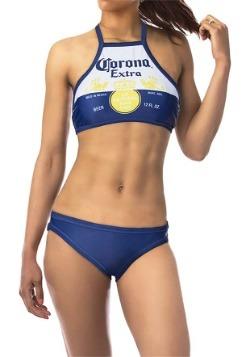 Women's Corona High-Neck Halter Top Bikini