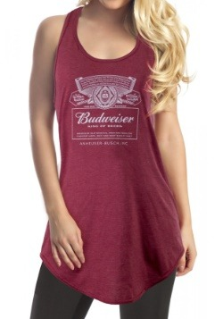 Women's Budweiser Tank Top Cover Up