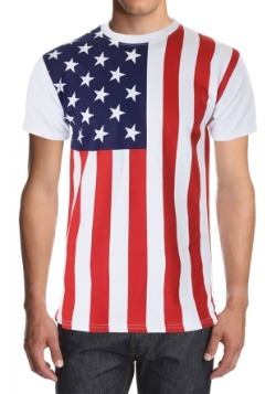 Mens American Flag Shirt