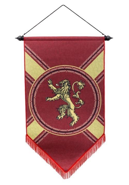 "Game of Thrones House Lannister 21"" x 36"" Felt Banner1"
