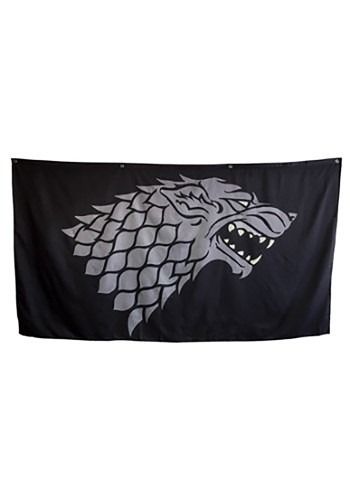 "Game of Thrones House Stark Jumbo 62"" x 118"" Banner"