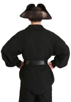 Men's Black Pirate Shirt