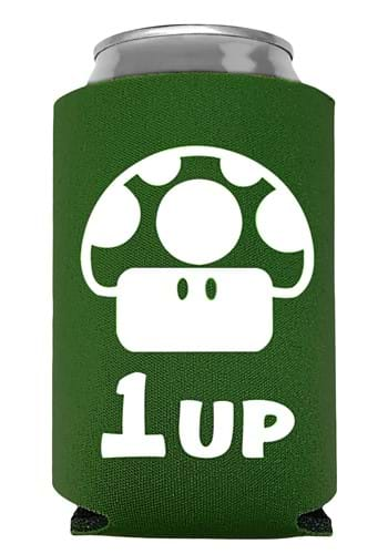 1 Up Extra Life Can Koozie