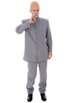 Plus Size Evil Gray Suit