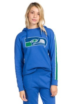 Women's Blue Seattle Seahawks Fleece Hoodie
