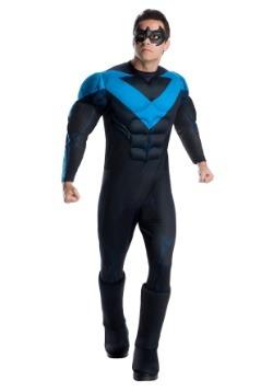 Men's Deluxe Nightwing Costume