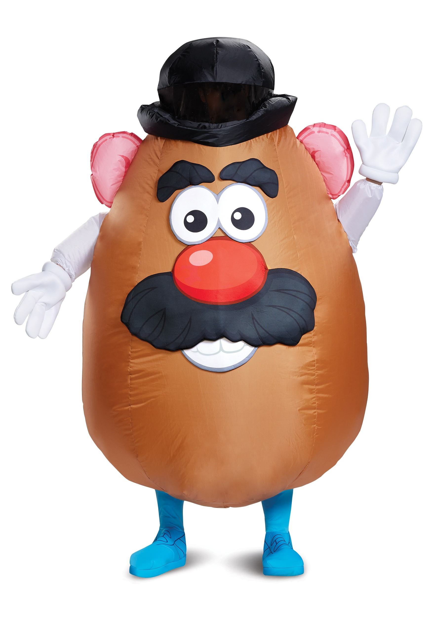 Adult Inflatable Mr Potato Head Costume