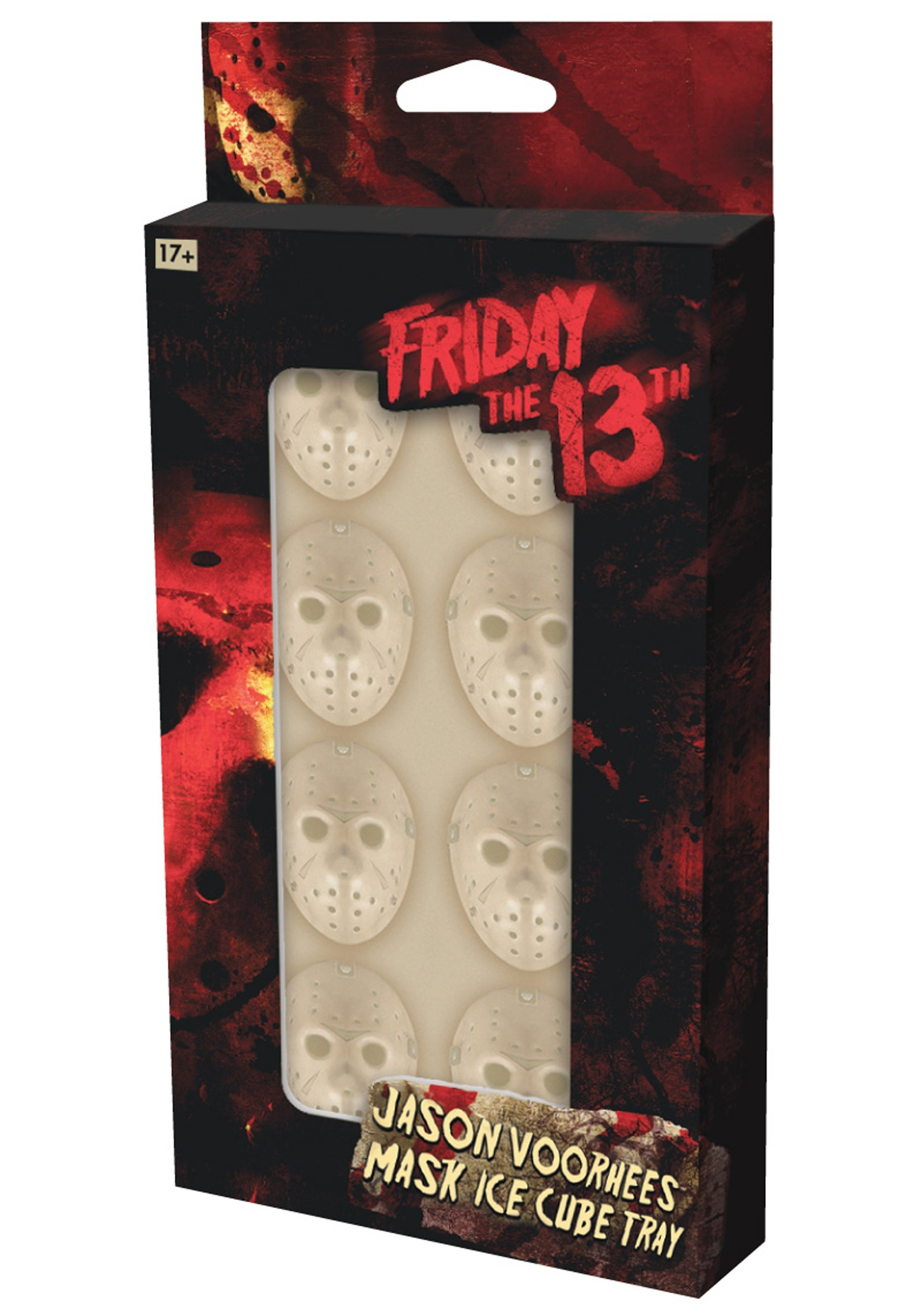 Jason Voorhees Mask Ice Cube Tray Friday the 13th
