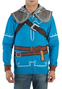 Breath of the Wild Zelda Suit Up Costume Hood