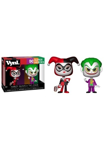 Vynl: DC Comics: Harley Quinn & The Joker Vinyl Figures
