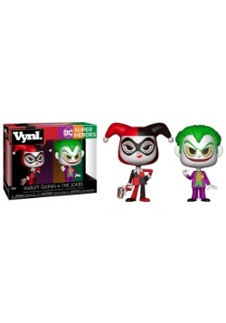 Vynl: DC Comics: Harley Quinn & The Joker Vinyl Figures