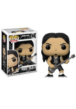 POP! Music: Metallica - Robert Trujillo Vinyl Figure