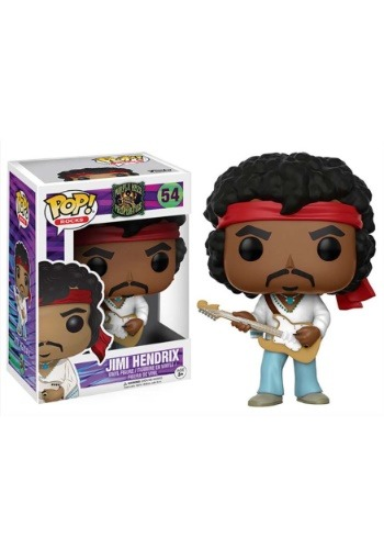 POP! Rocks: Music- Jimi Hendrix Woodstock Vinyl Figure
