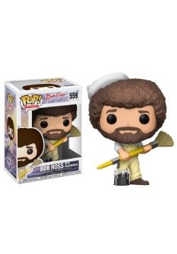 POP! TV: Bob Ross - Bob Ross in Overalls Vinyl Figure