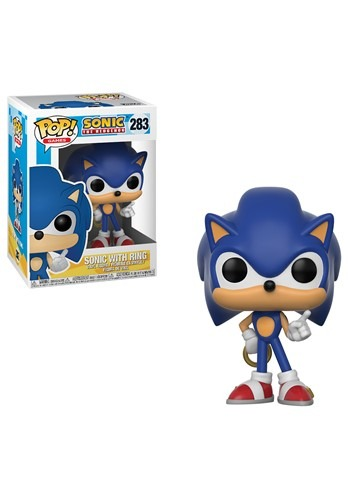 POP! Games: Sonic - Sonic Vinyl Figure w/Ring
