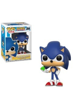 Sonic the Hedgehog Vinyl Figure w/ Emerald