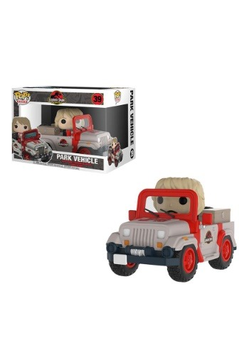 Pop! Ride: Jurassic Park- Park Vehicle