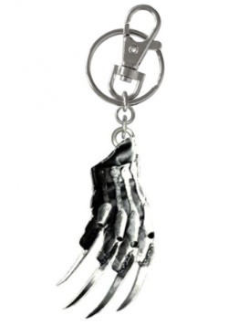 Freddy Glove Pewter Keychain