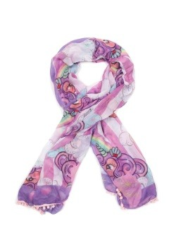 Irregular Choice Unicorn Rainbow Lightweight Scarf