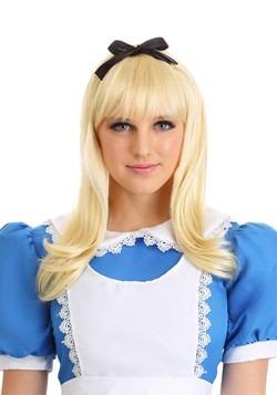 Women's Classic Blonde Alice Wig
