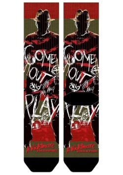Nightmare on Elm Street Freddy Crew Socks