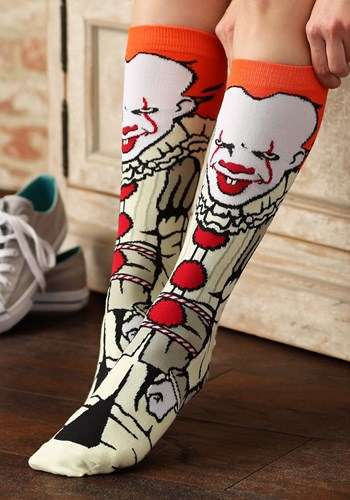 Pennywise IT Movie Crew Socks