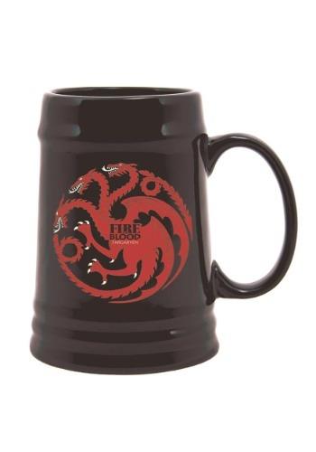 Game of Thrones Ceramic Stein Targaryen Sigil