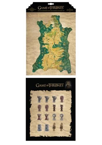 Game of Thrones Map Marker Magnet Set