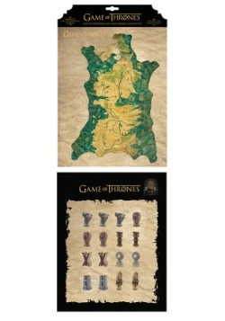 Game of Thrones Map Marker Magnet Set