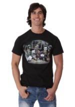 Batman Villains Playing Poker Men's T-Shirt