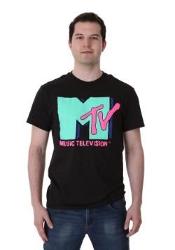 Men's Cyan MTV T-Shirt