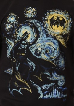 Men's Batman Abstract Painting T-Shirt